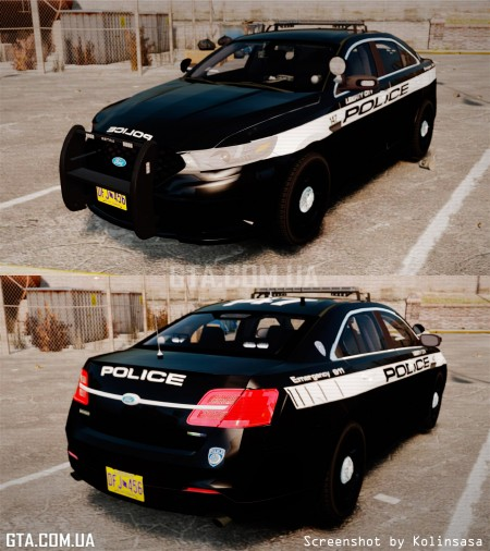 Ford Taurus Police Interceptor 2013 Liberty City Police Department [ELS] v3